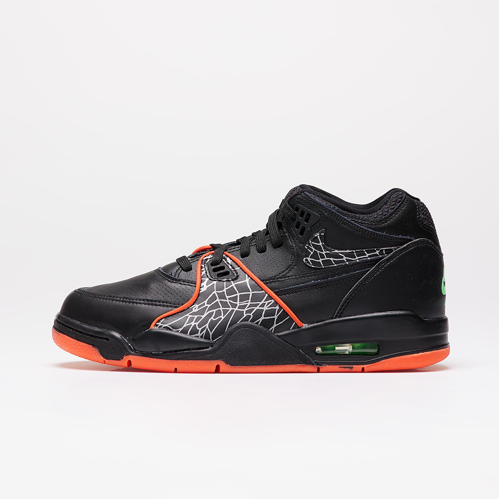 Încălțăminte și sneakerși pentru bărbați Nike Air Flight 89 QS Black/ Orange Blaze-Green Strike-White