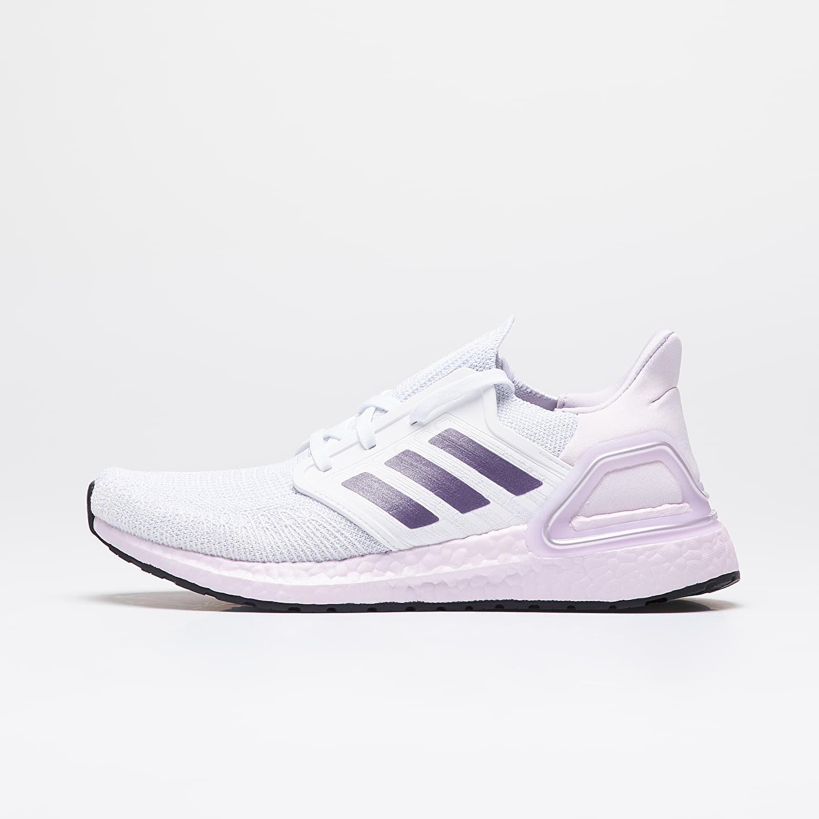 Dámské tenisky a boty adidas UltraBOOST 20 W Ftw White/ Tech Purple/ Purple Tint