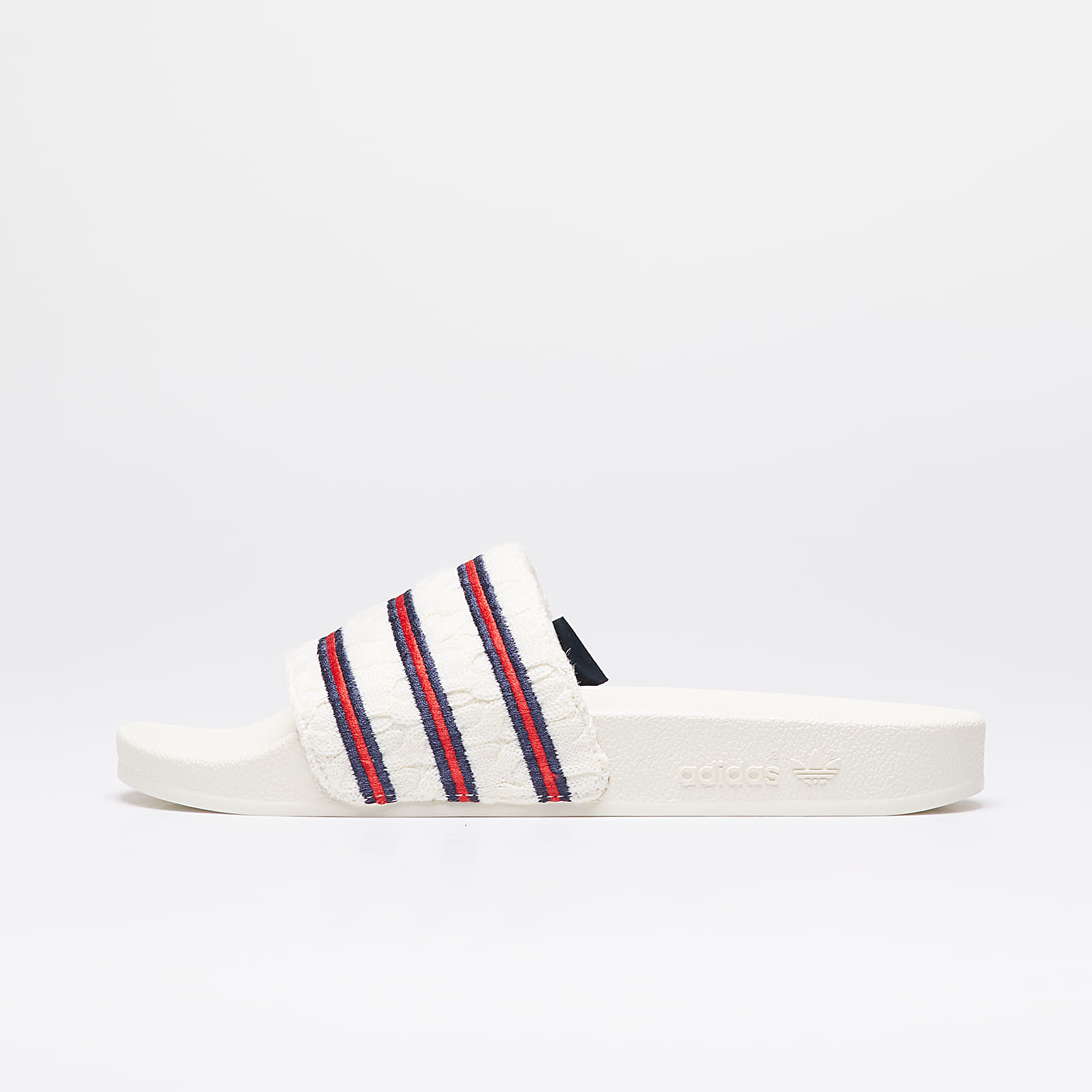 Încălțăminte și sneakerși pentru bărbați adidas Consortium x Extra Butter Adilette Off White/ Collegiate Royal/ Off White