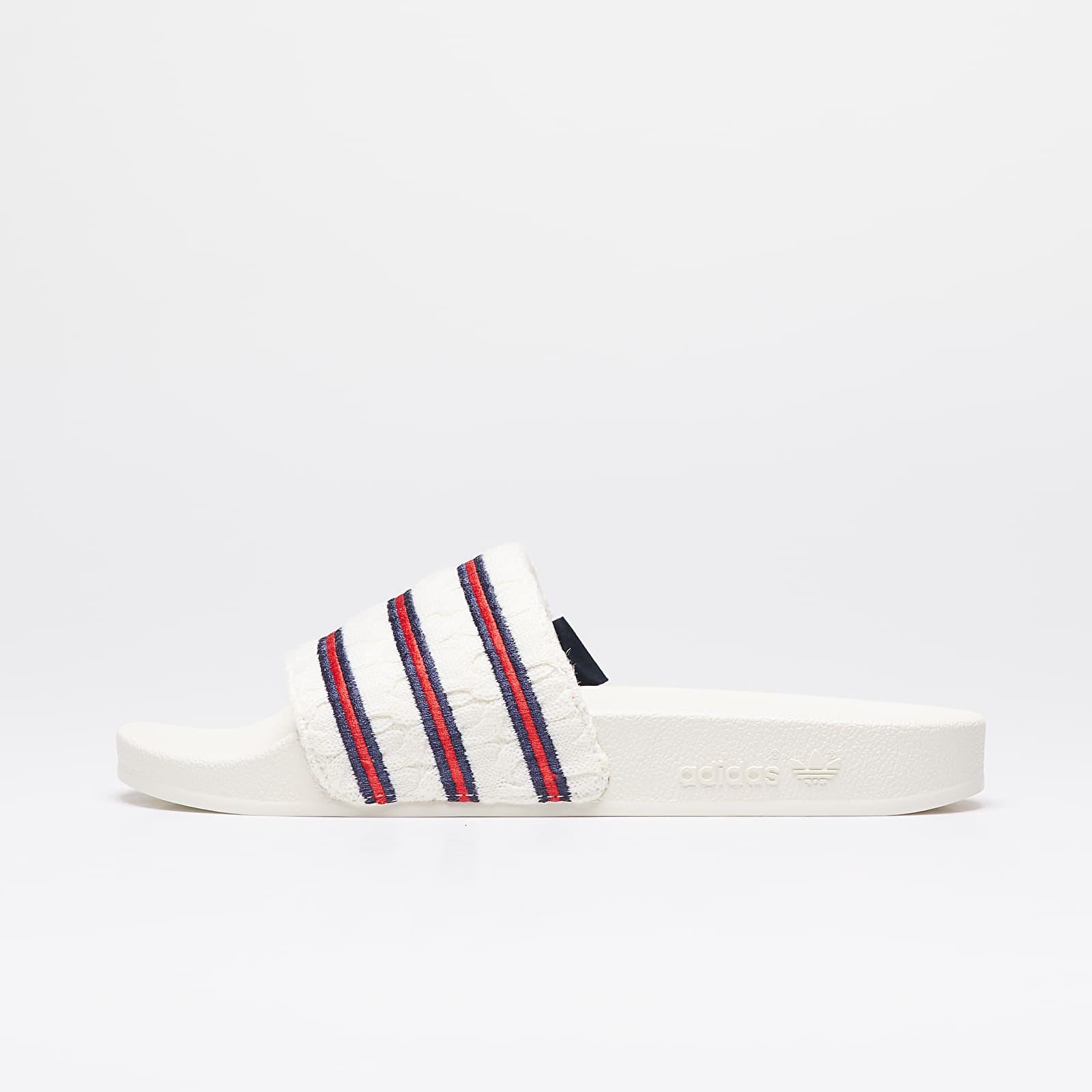 Pánské tenisky a boty adidas Consortium x Extra Butter Adilette Off White/ Collegiate Royal/ Off White