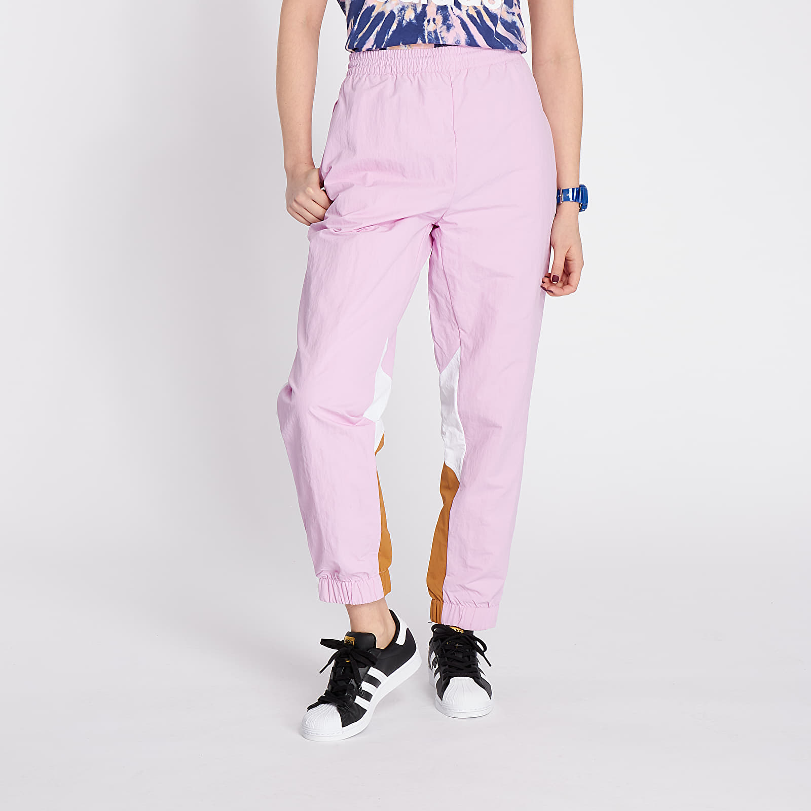 Джинси і штани adidas Trackpants Clear Lilac