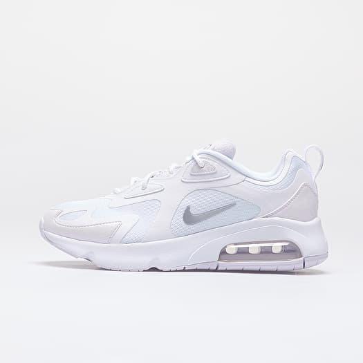 Nike Wmns Air Max 200White Barely Grape Metallic Silver