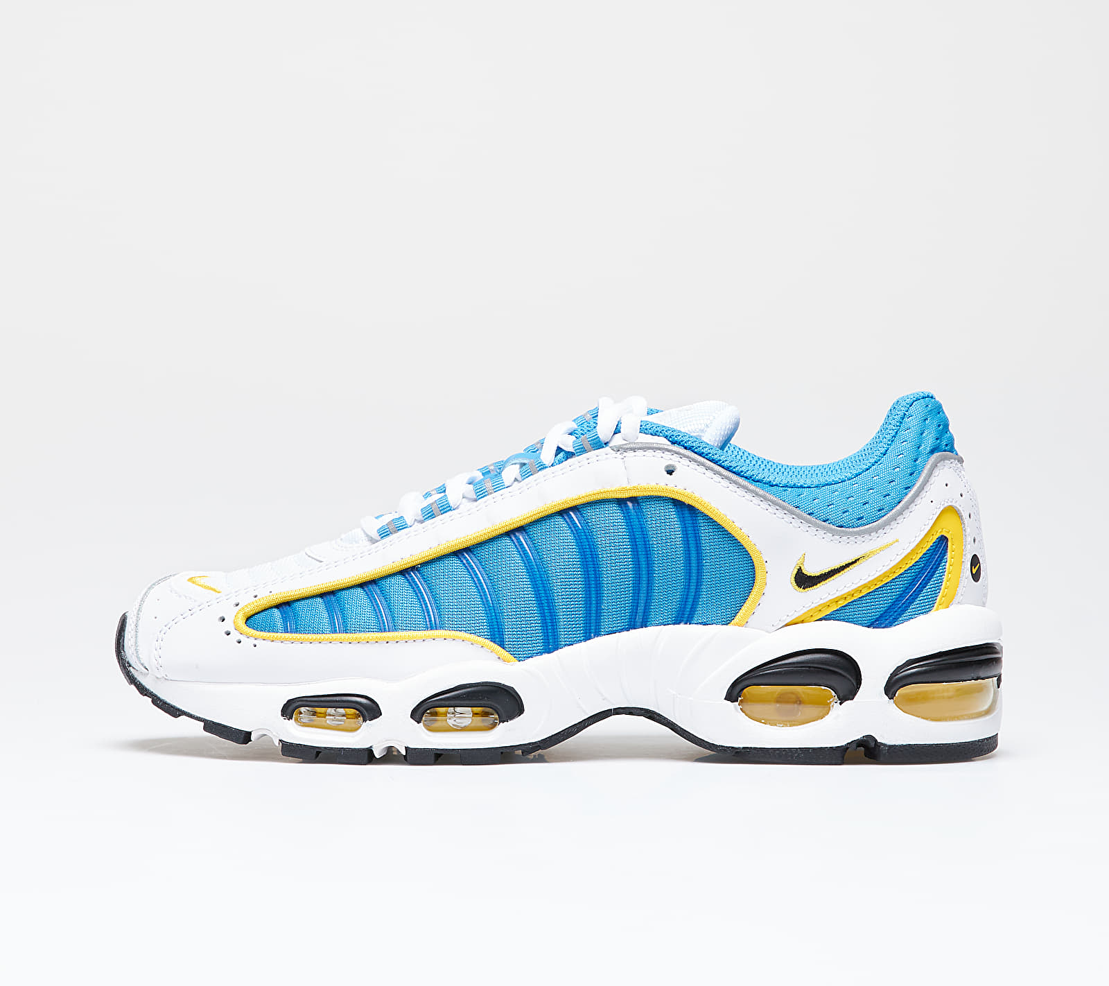 Nike Air Max Tailwind IV White/ Lt Photo Blue-Speed Yellow-White
