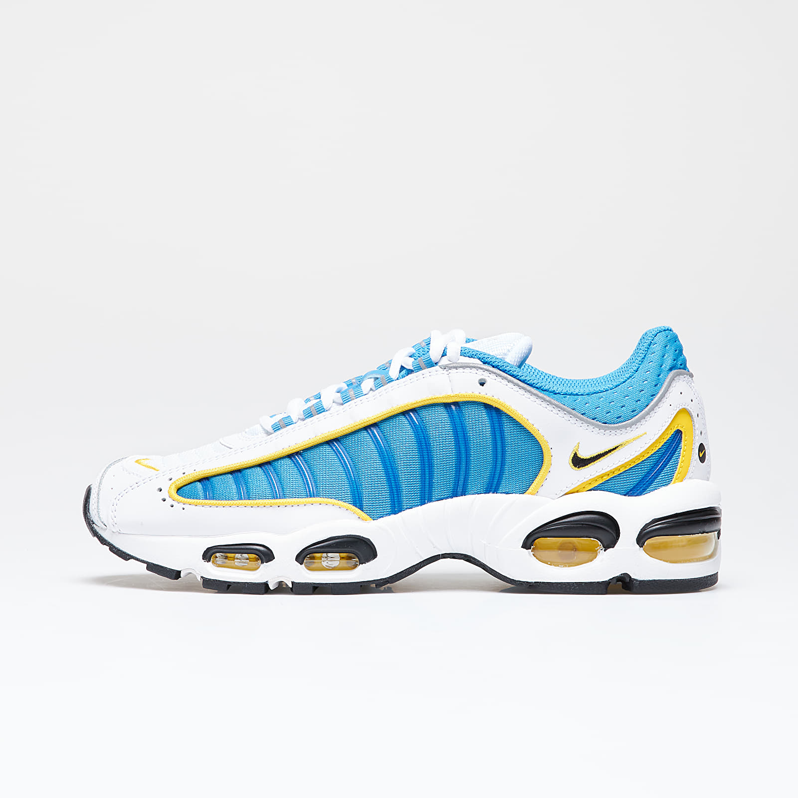 Men's shoes Nike Air Max Tailwind IV White/ Lt Photo Blue-Speed Yellow-White