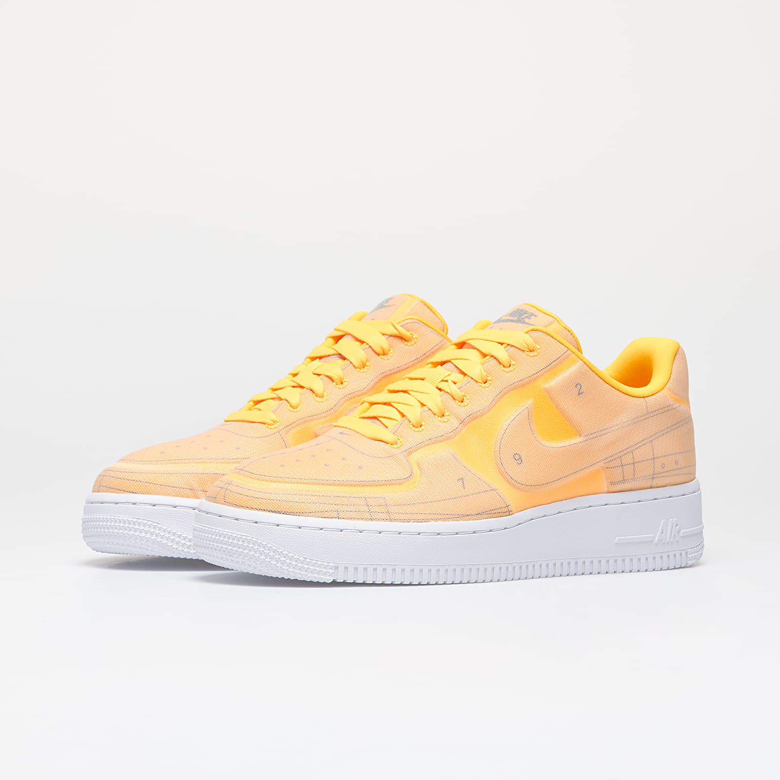 nike air force 1 07 se jaune