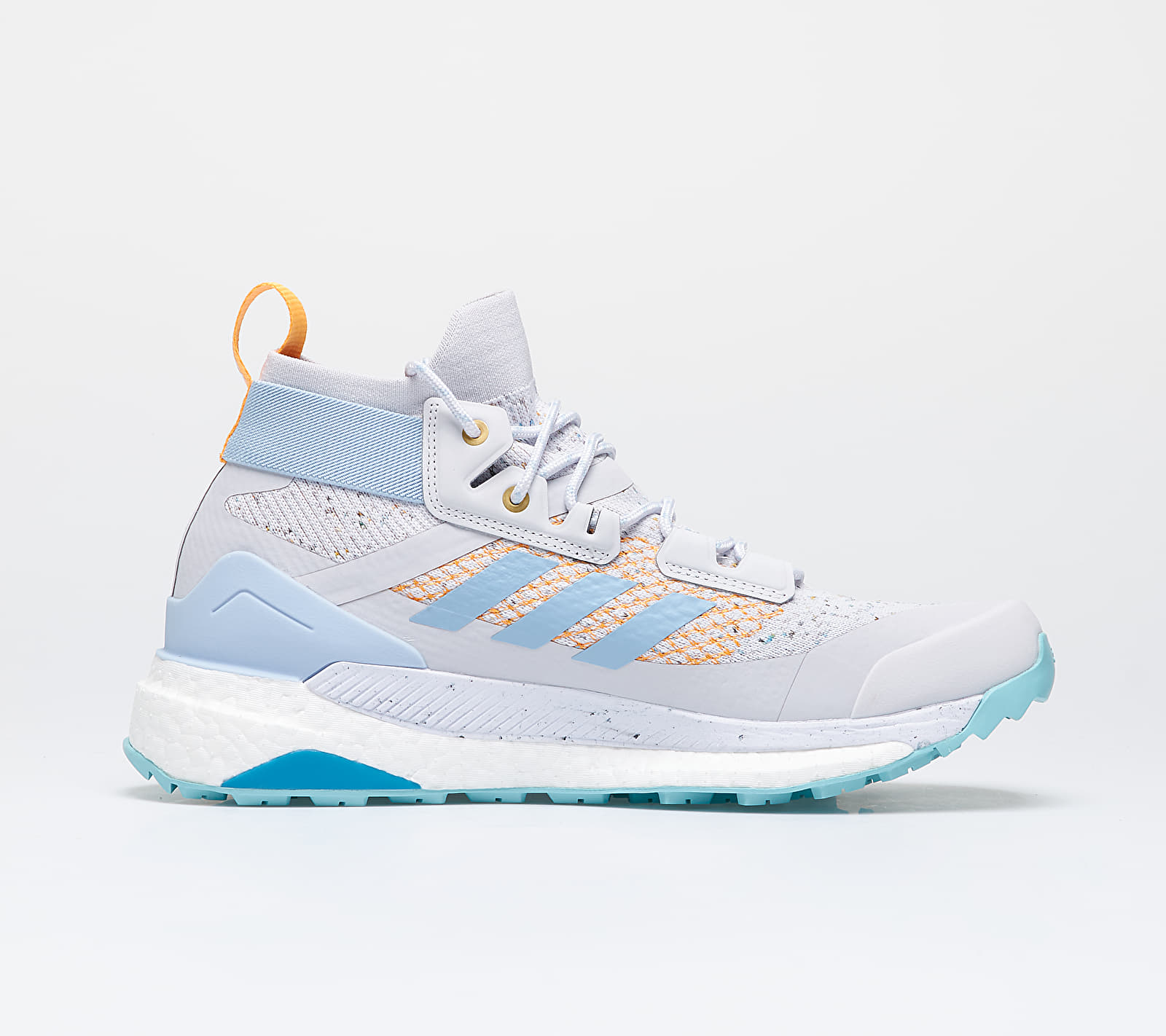 adidas x PArley Terrex Free Hiker W Dash Grey/ Easy Blue/ Real Gold, Gray