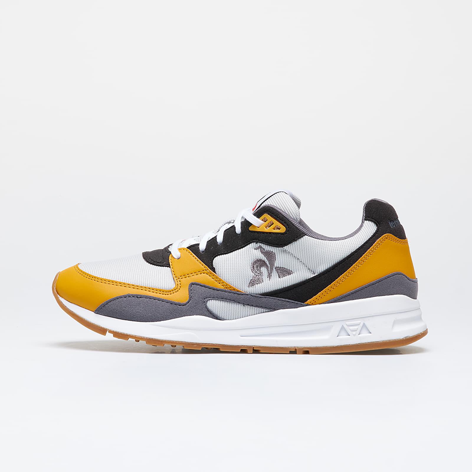 Pánske tenisky a topánky le coq sportif R800 Galet/ Mineral Yellow