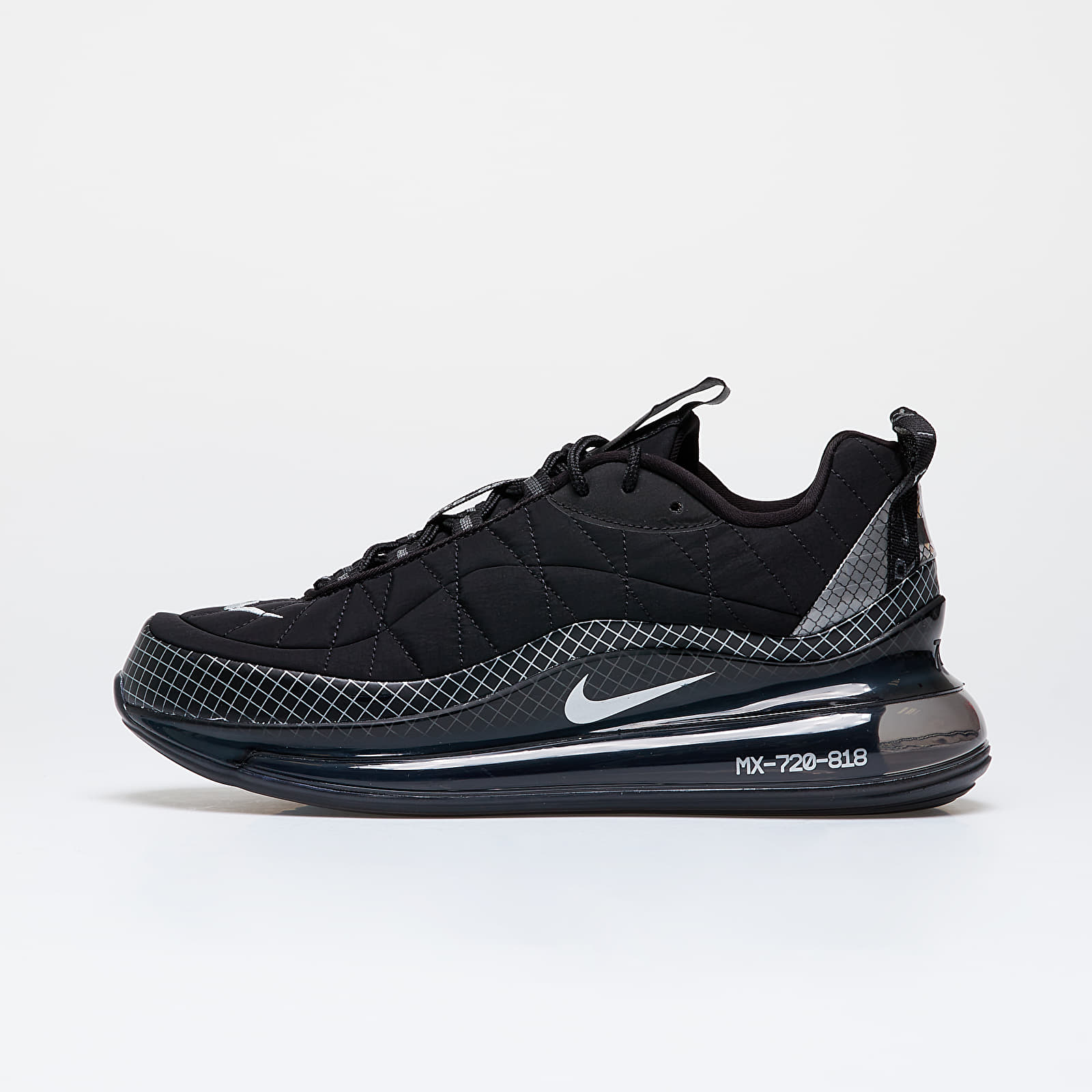 Férfi cipők Nike Mx-720-818 Black/ Metallic Silver-Black-Anthracite