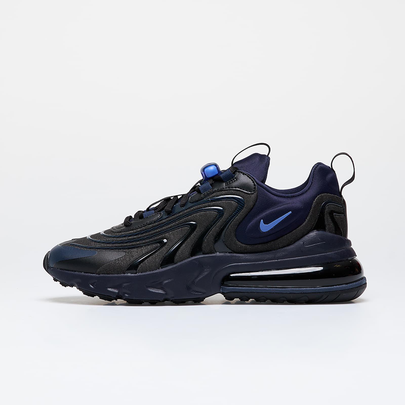 Men's shoes Nike Air Max 270 React ENG Black/ Sapphire-Obsidian