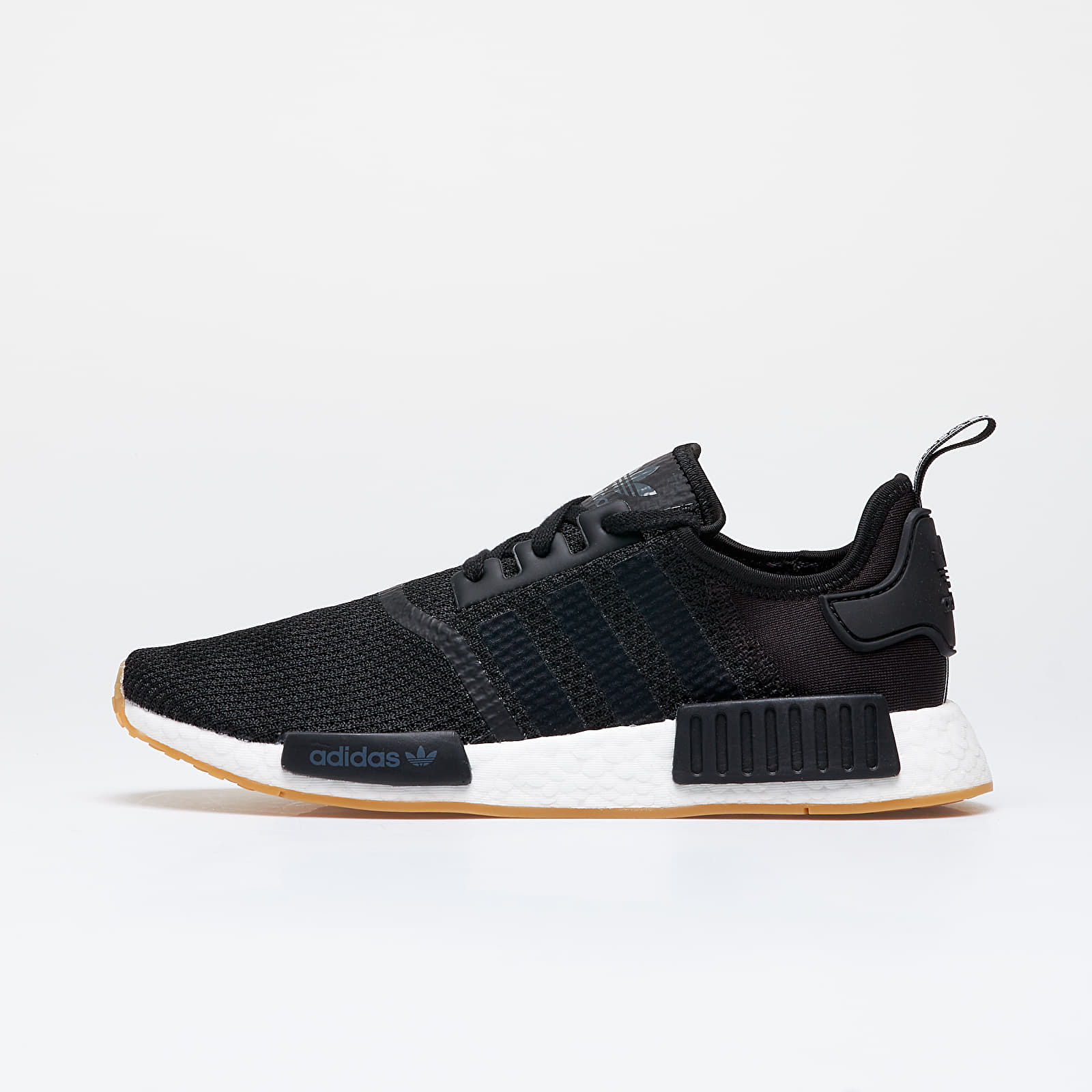 Men's shoes adidas NMD_R1 Core Black/ Core Black/ Gum 3