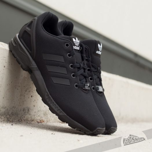 competitive price c79ab 4ce09 adidas ZX Flux J Core Black/ Core Black/ Core Black | Footshop