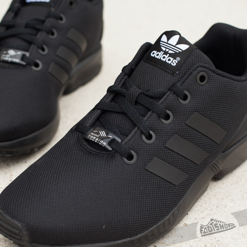 competitive price d3083 53920 adidas ZX Flux J Core Black/ Core Black/ Core Black | Footshop