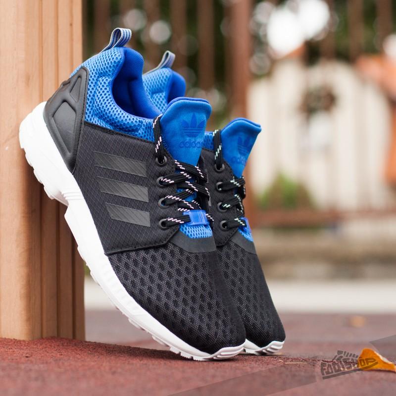 9c472e0dd adidas ZX Flux NPS Update Cobalt Black  Cobalt Black  Blue Royal ...