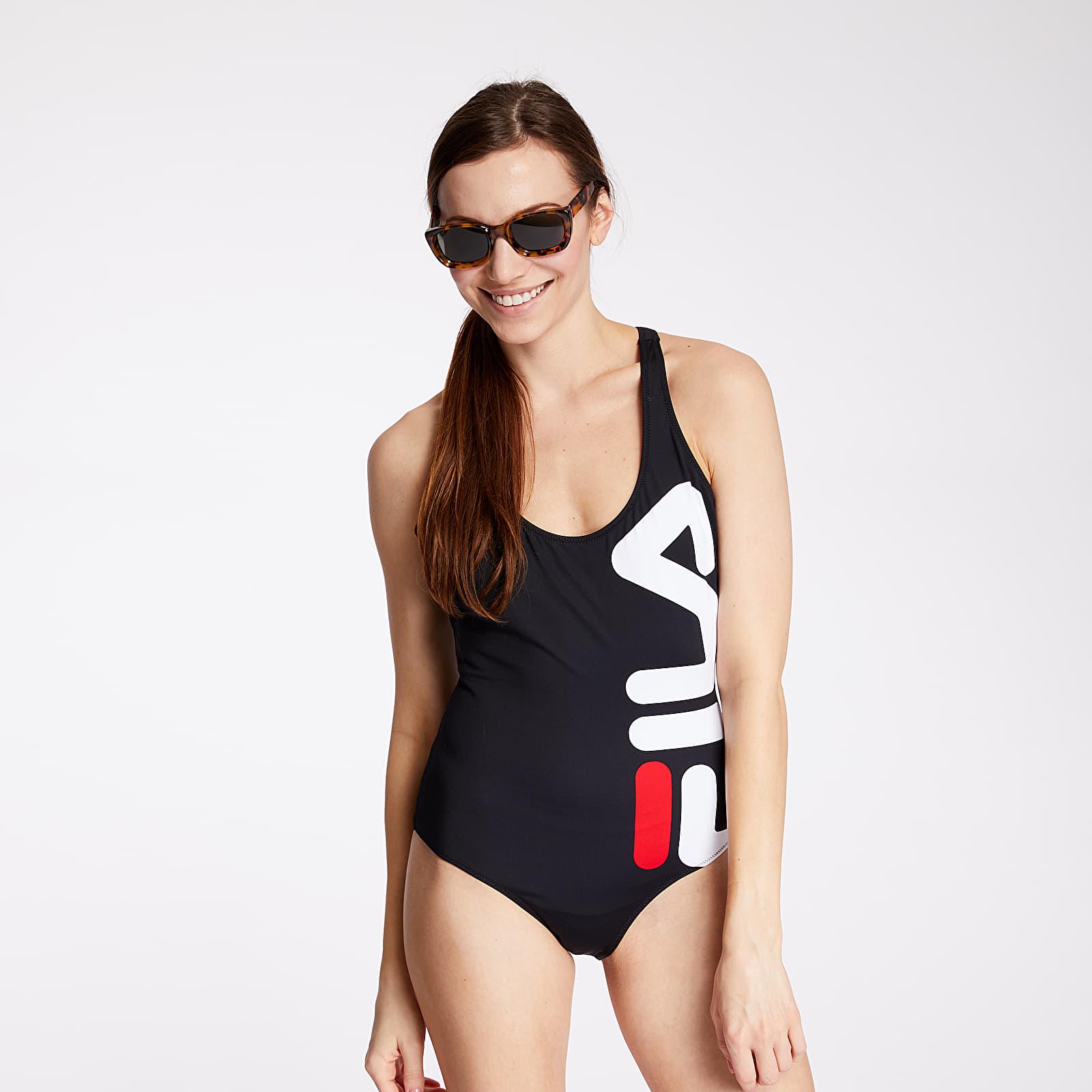 Fürdőruha FILA Zuko Swimsuit Black