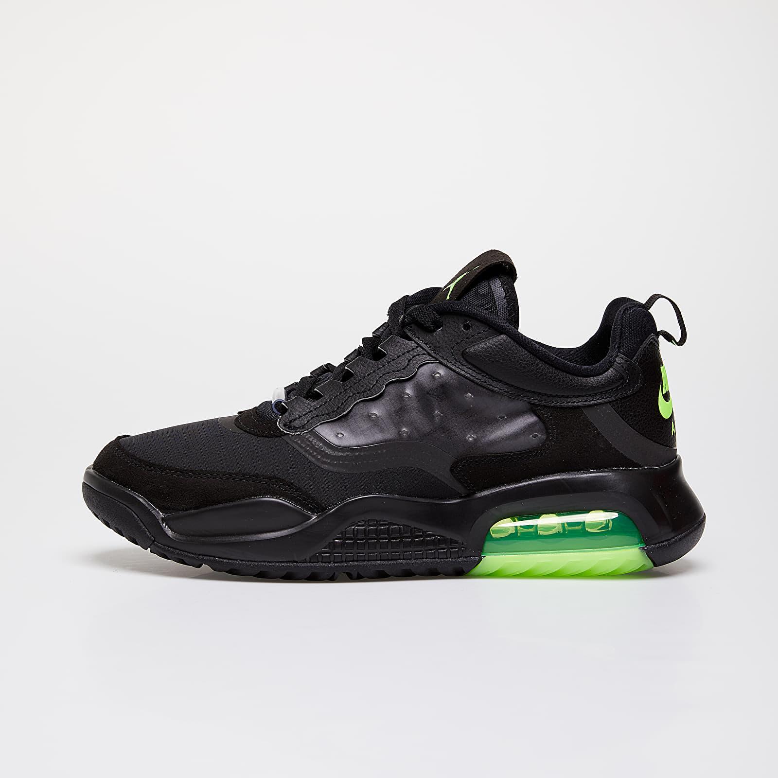 Men's shoes Jordan Max 200 Black/ Electric Green-Black