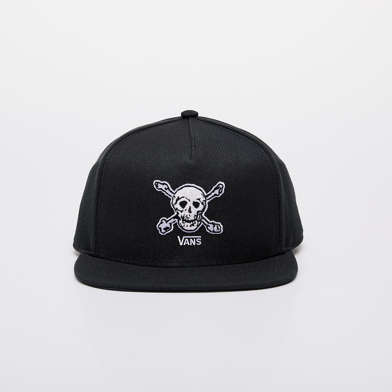 Caps Vans Anaheim Skull Snapback Black