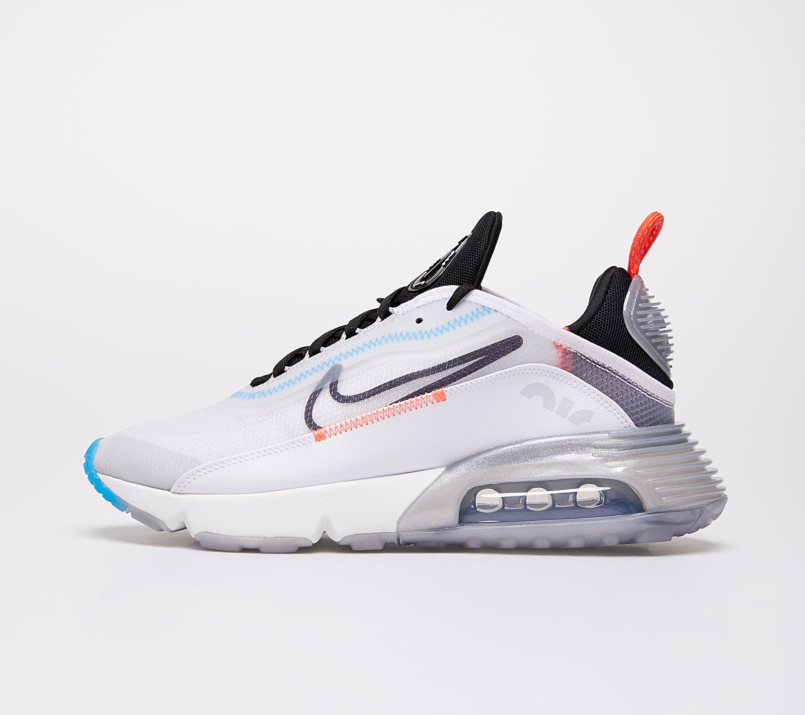 Nike W Air Max 2090 White/ Black-Pure Platinum-Bright Crimson EUR 38.5