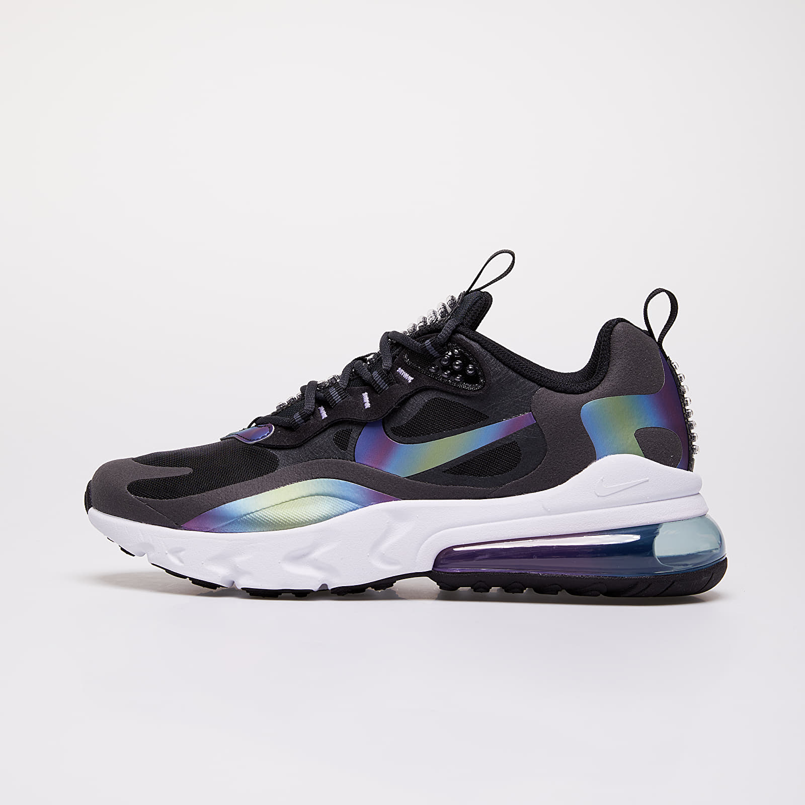 Zapatillas de niño Nike Air Max 270 React 20 (GS) Dk Smoke Grey/ Multi-Color-Black-White