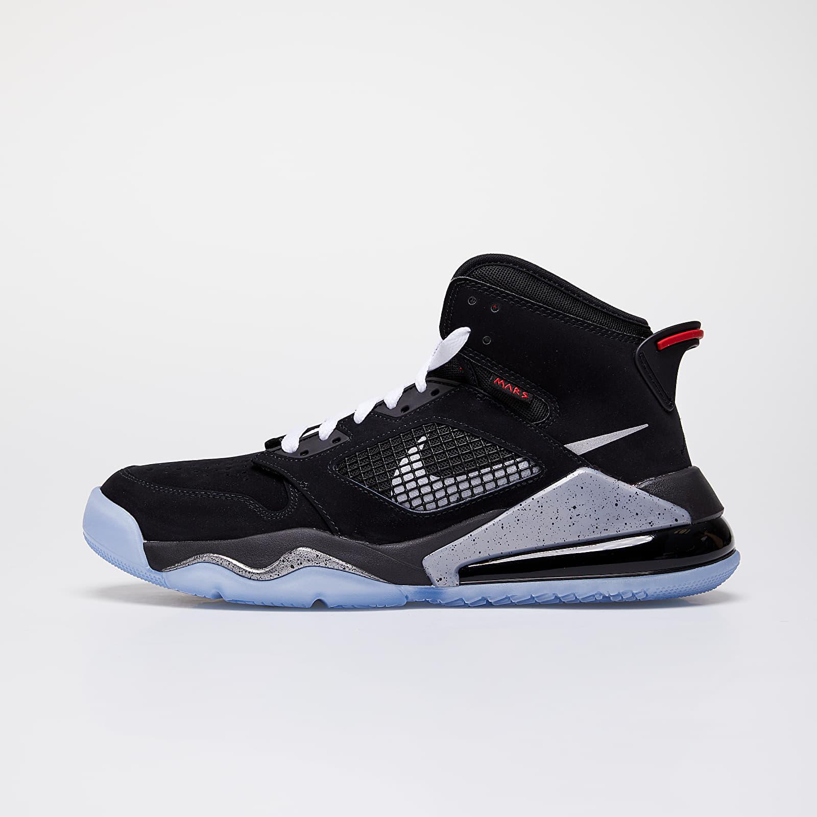 Pánske tenisky a topánky Jordan Mars 270 Black/ Reflect Silver-Fire Red-White