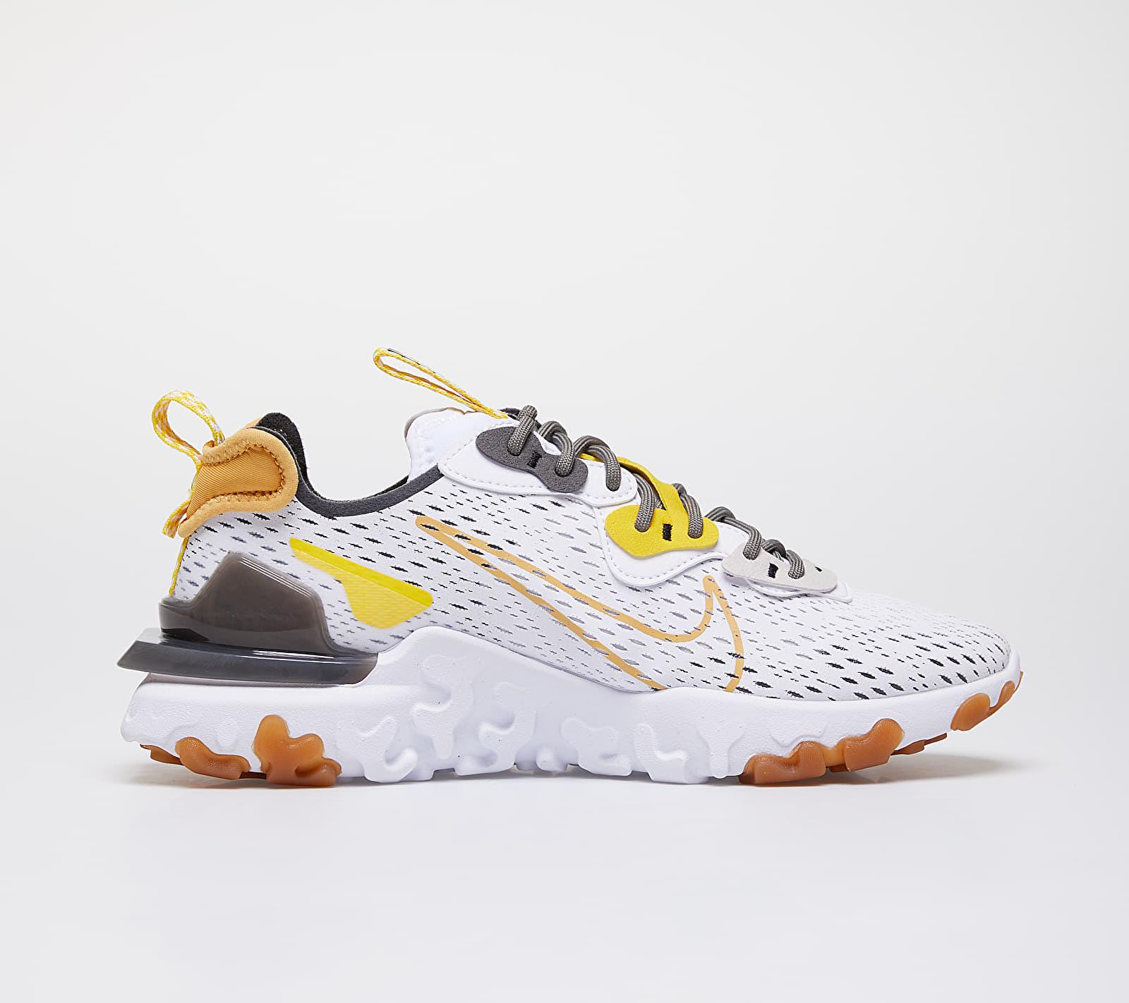 Nike React Vision White/ Honeycomb-Iron Grey-Vast Grey