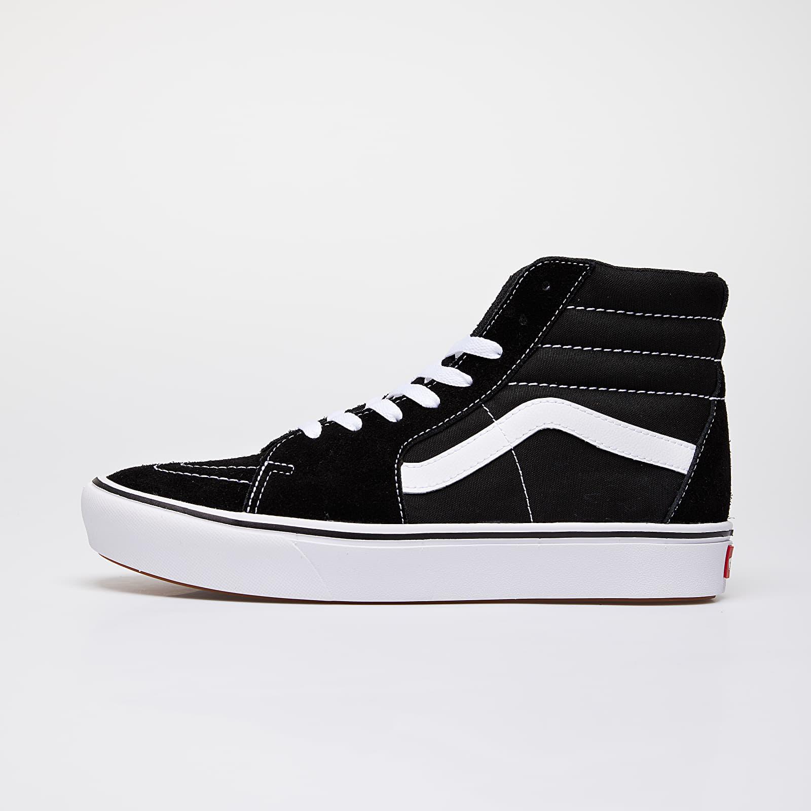 Men's shoes Vans ComfyCush SK8-Hi (Classic) Black/ True White