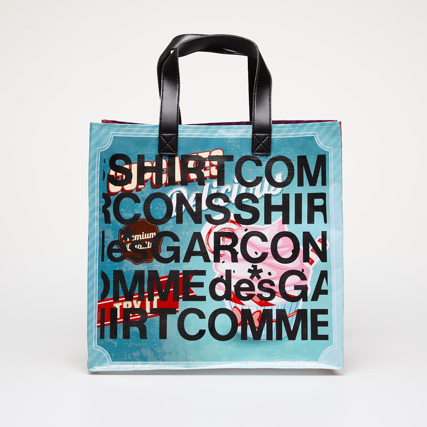 Bags Comme des Garçons SHIRT Printed Shopping Tote Bag Multicolor