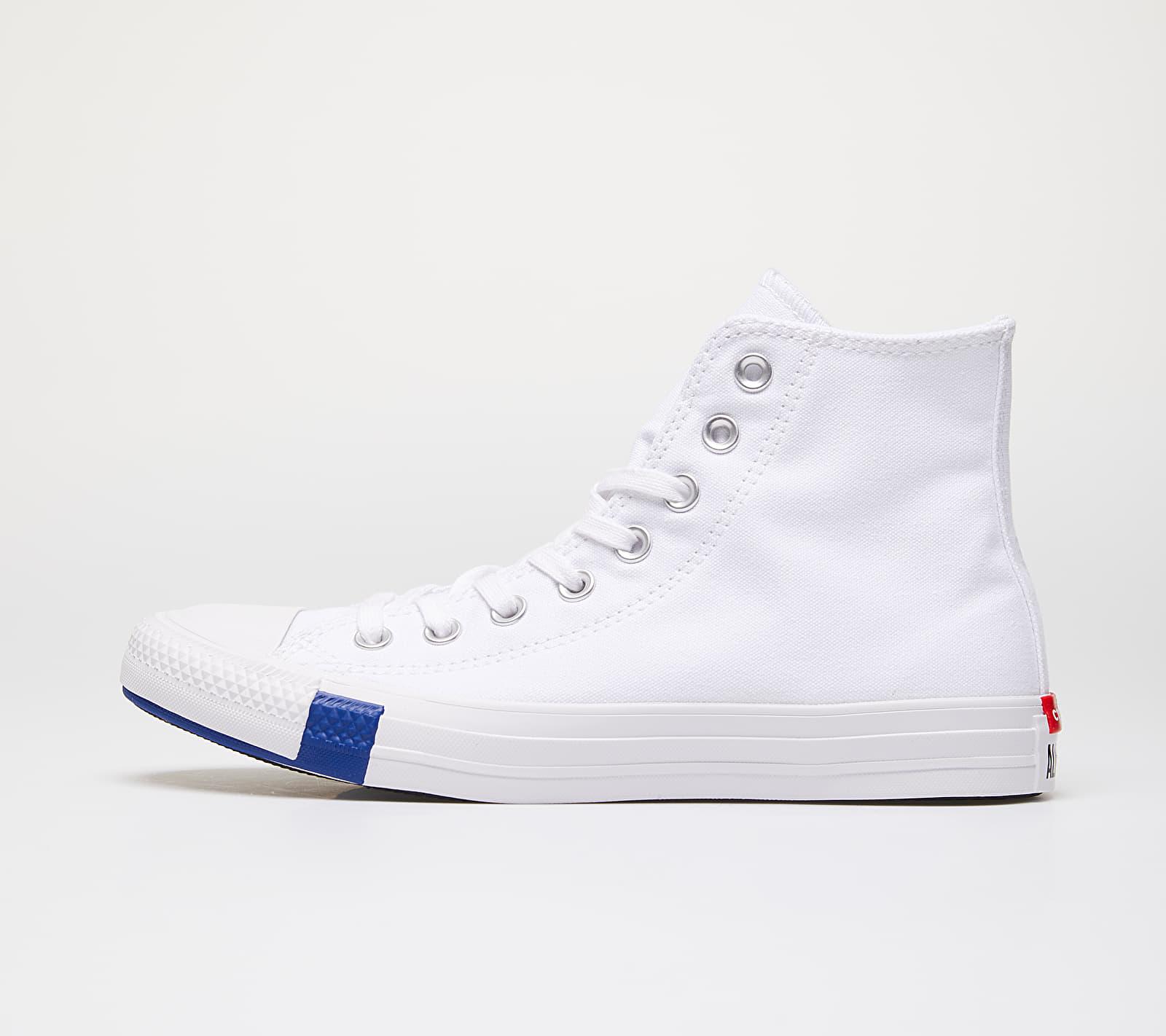 Converse Chuck Taylor All Star Hi White/ Rush Blue EUR 36