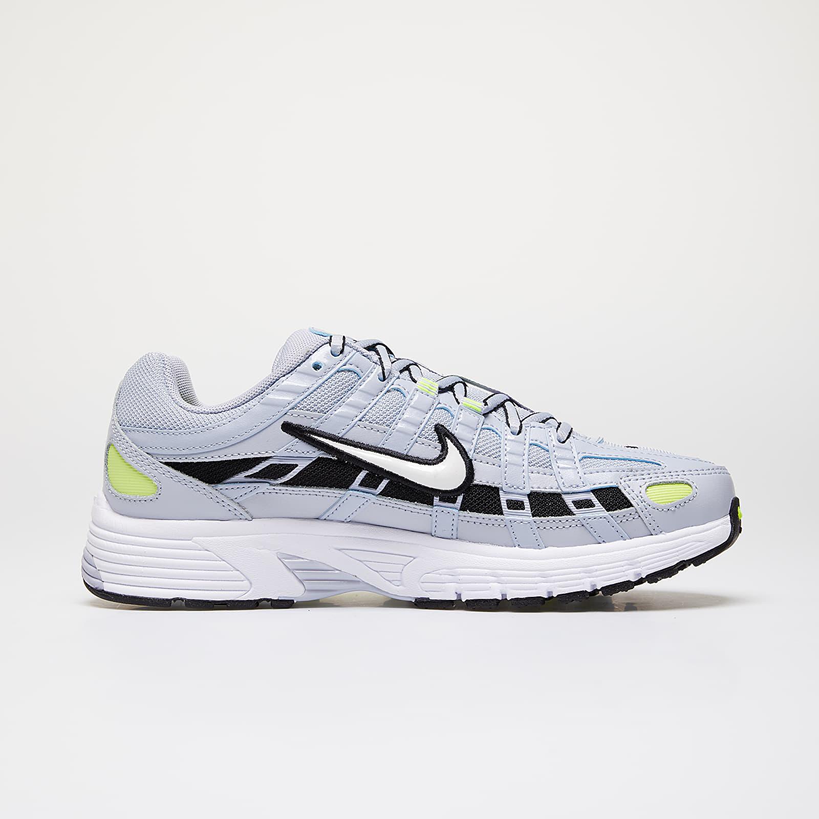 Nike W P 6000 Sky Grey White Lemon Venom Black | Footshop