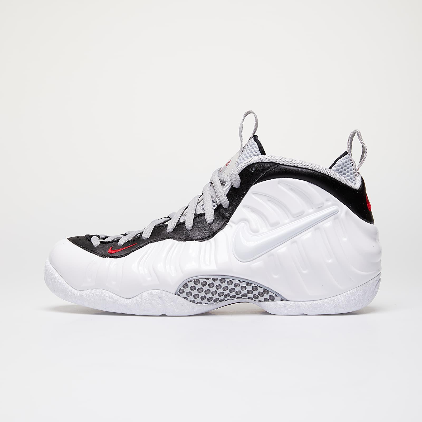 Pánské tenisky a boty Nike Air Foamposite Pro White/ White-Black-University Red