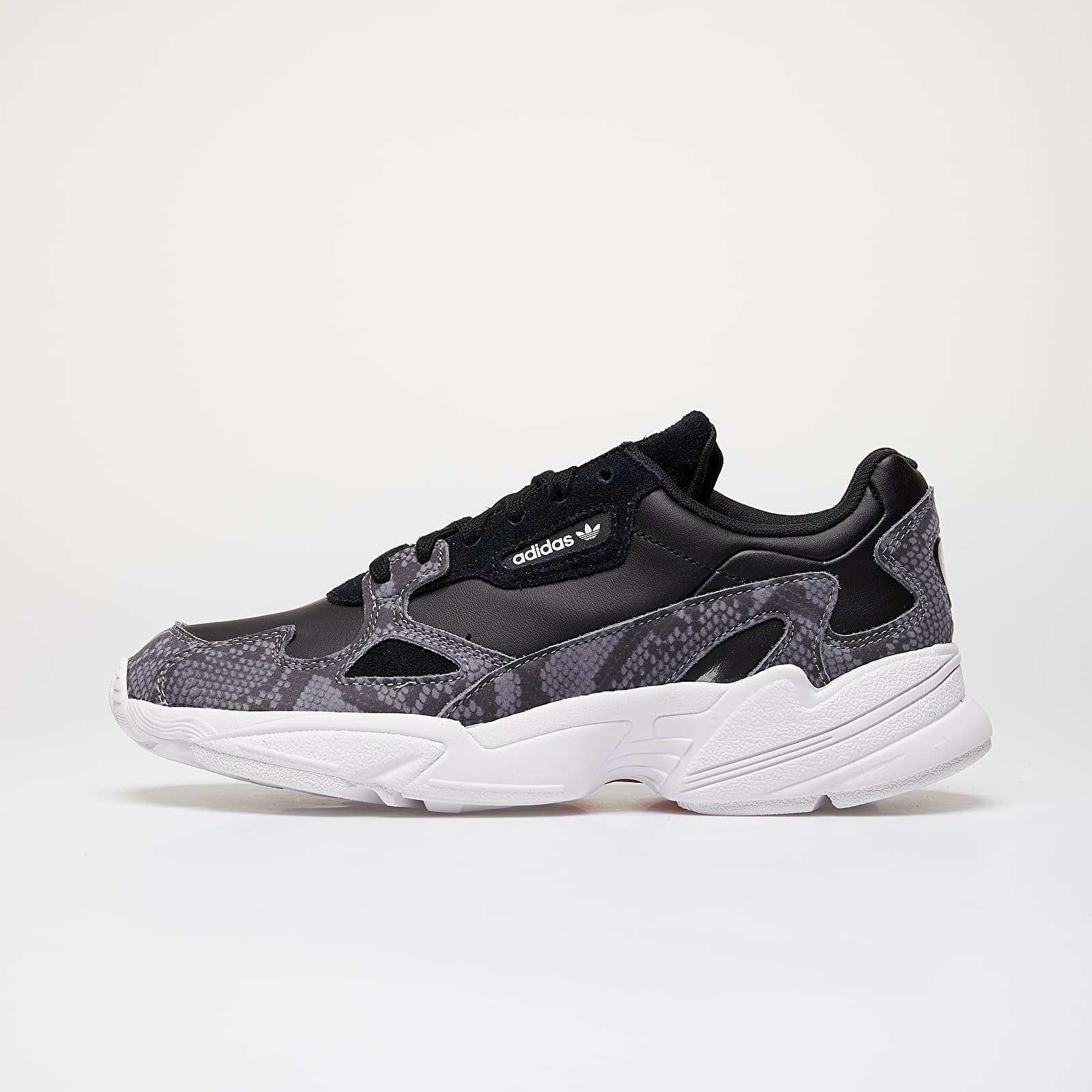 Women's shoes adidas Falcon W Core Black/ Core Black/ Ftw White
