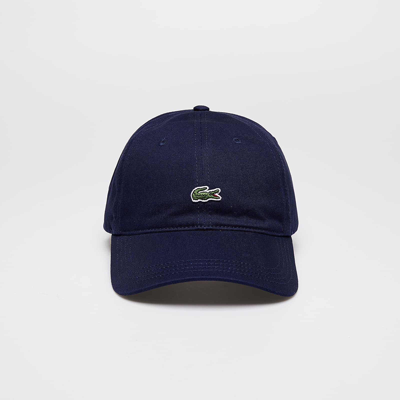 LACOSTE Cotton Strap Cap