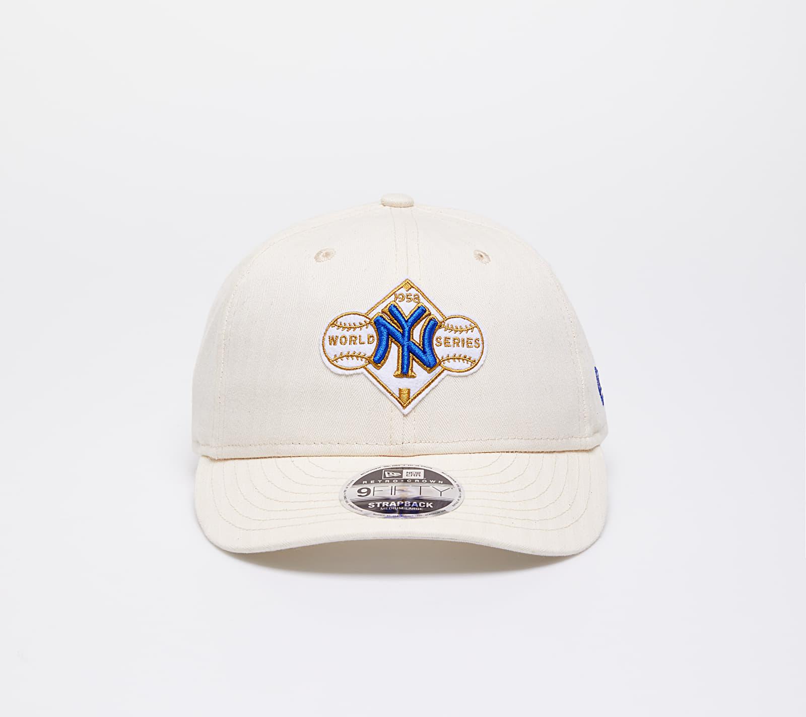 New Era 9Fifty MLB Cooperstown New York Yankees Hat Cream S-M