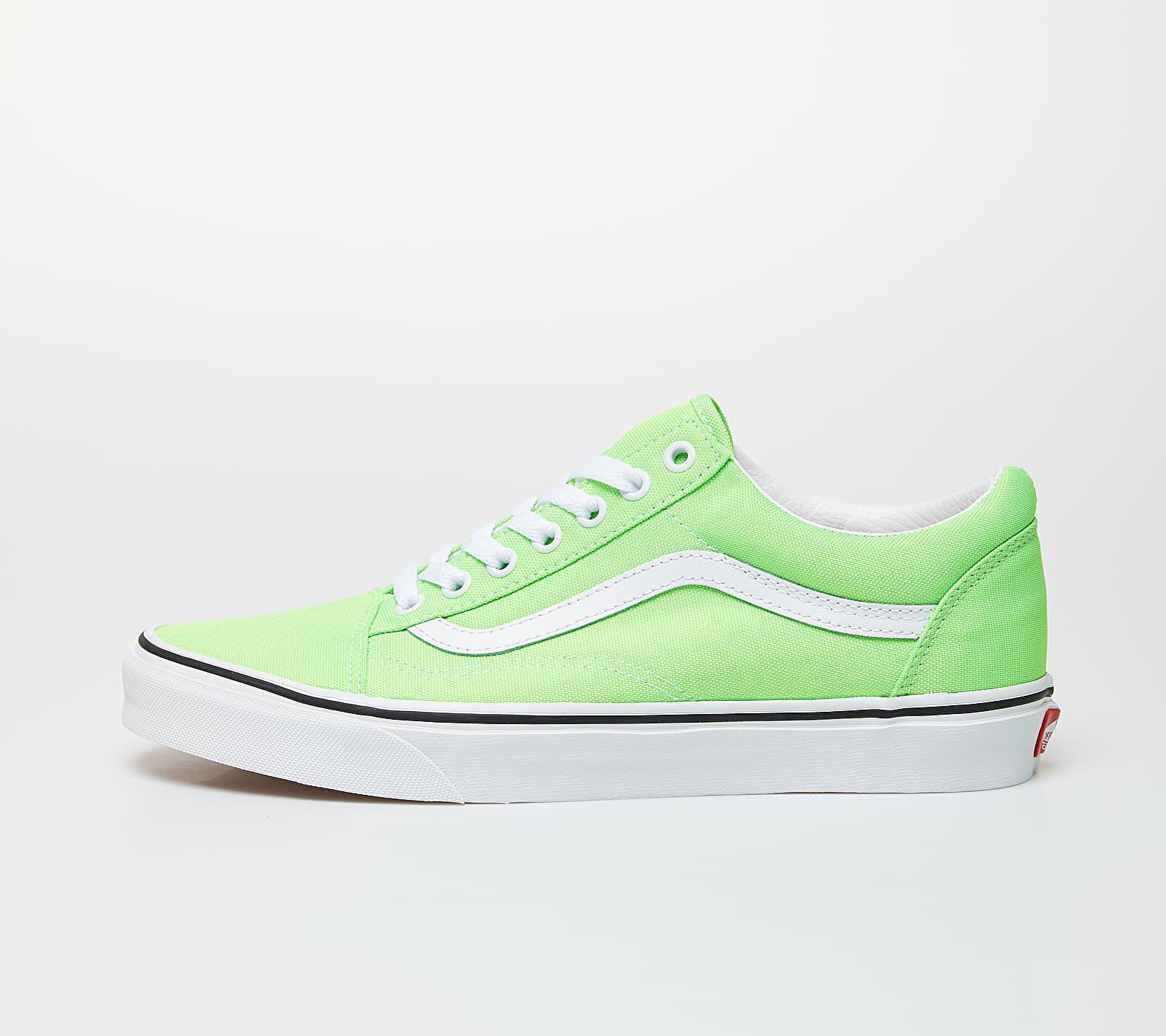 Vans Old Skool (Neon) Green Gecko/ True White EUR 34.5