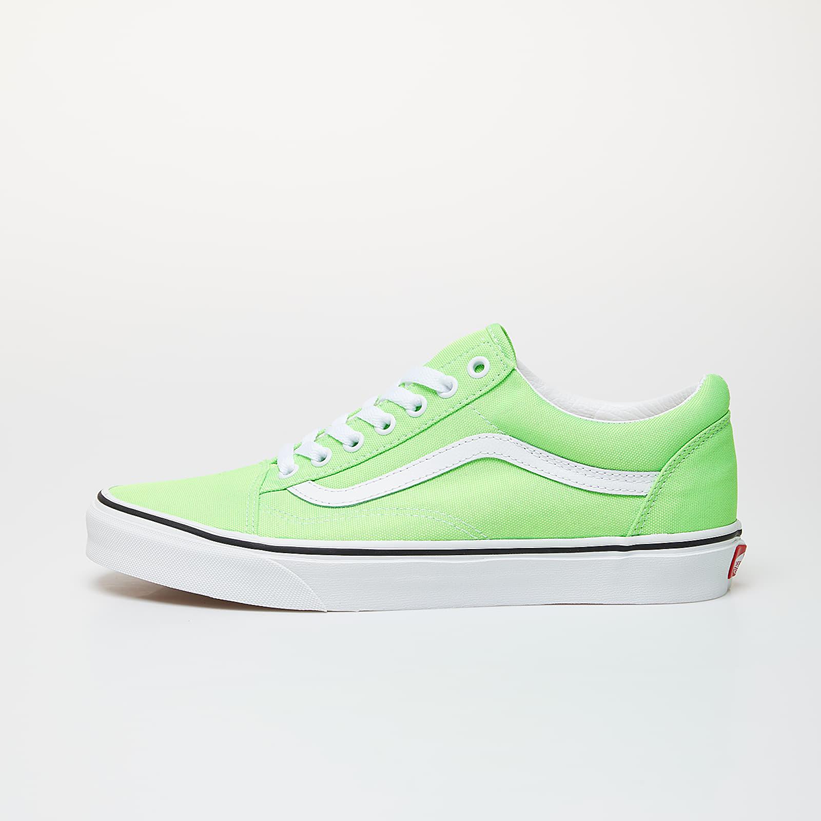 Men's shoes Vans Old Skool (Neon) Green Gecko/ True White
