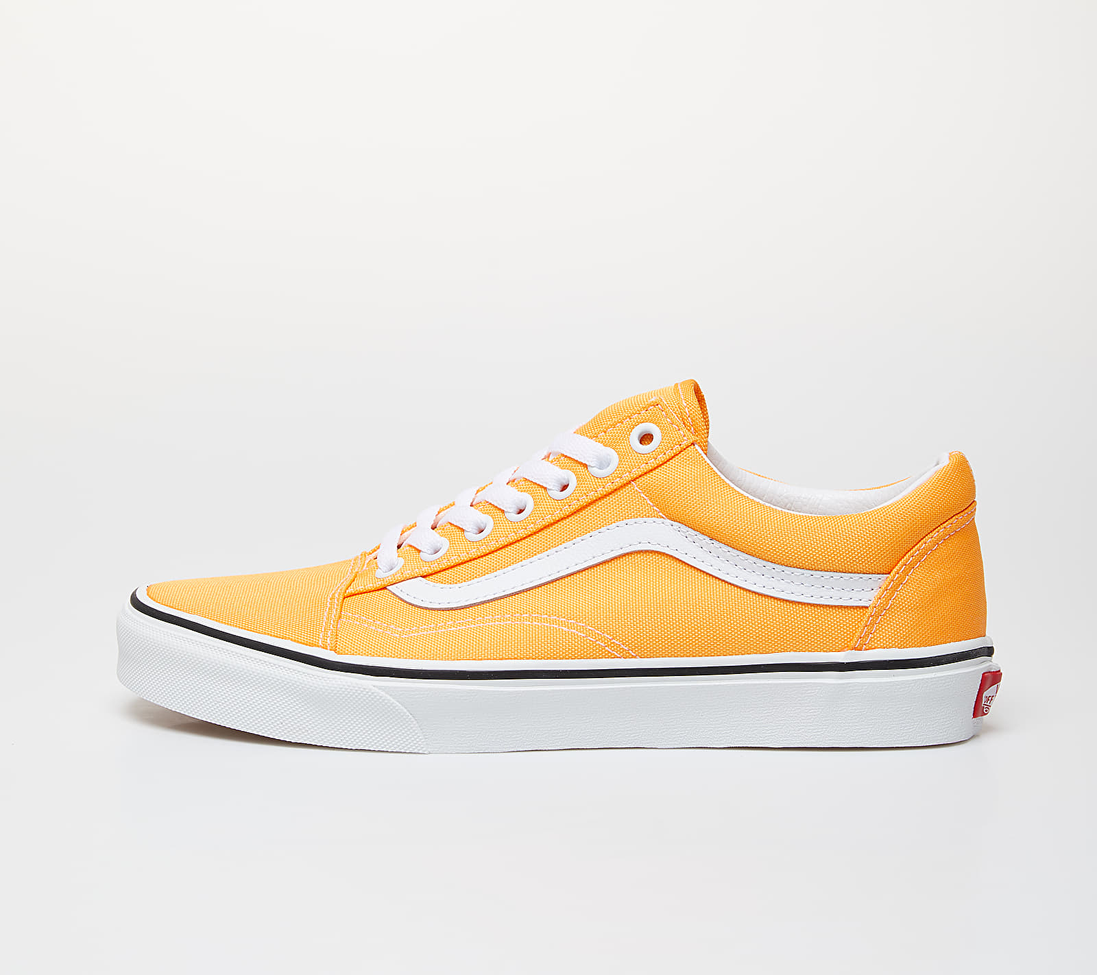Vans Old Skool (Neon) Blazing Orange/ True White EUR 35
