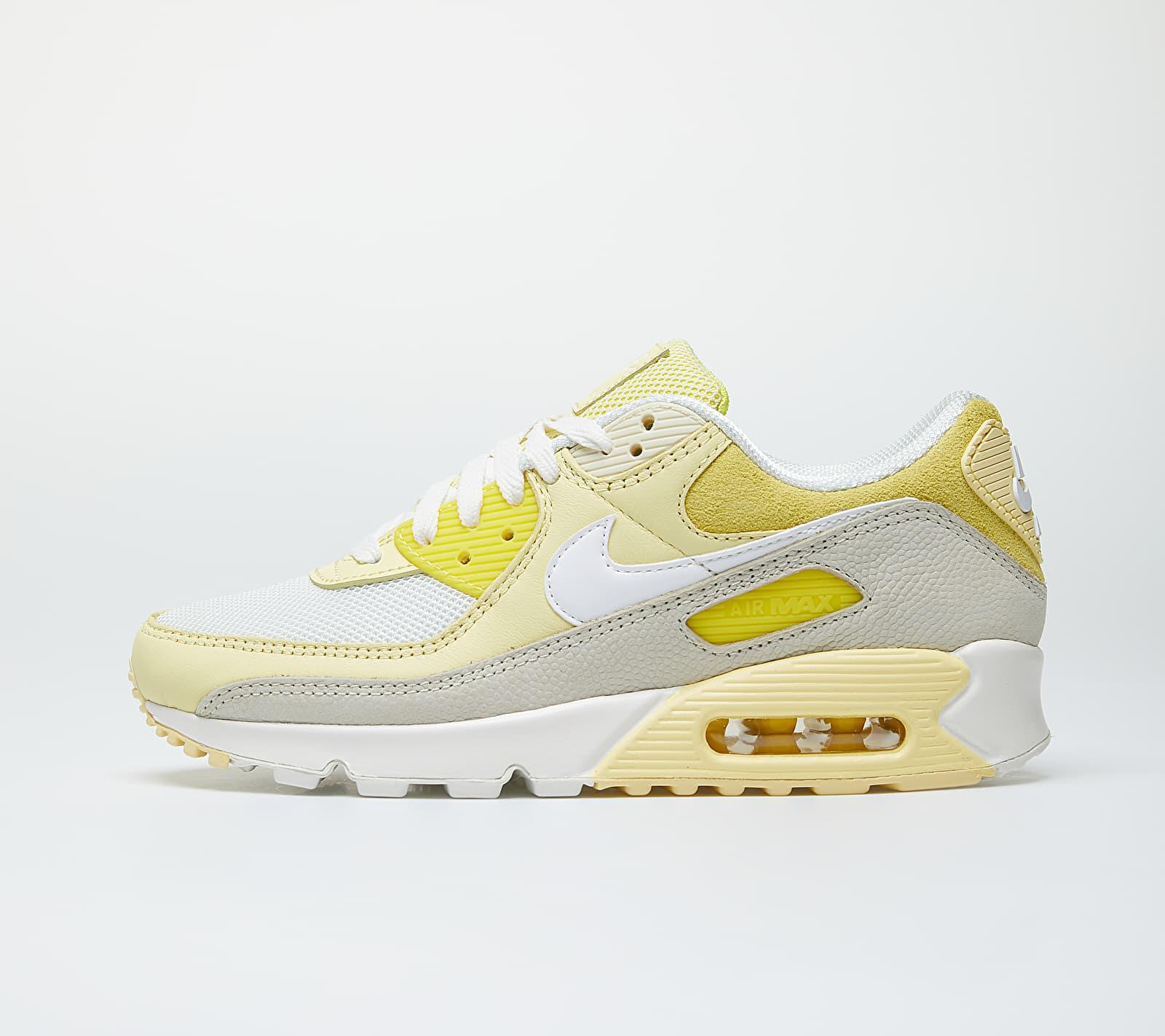 Nike Wmns Air Max 90 Opti Yellow/ White-Fossil-Bicycle Yellow 1
