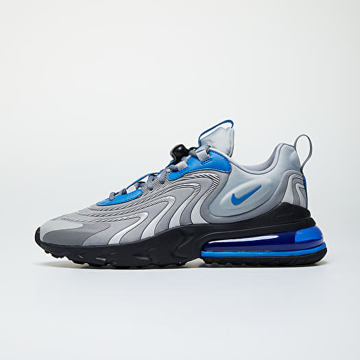 Nike Air Max 270 React Eng Lt Smoke Grey Battle Blue Smoke Grey | Footshop