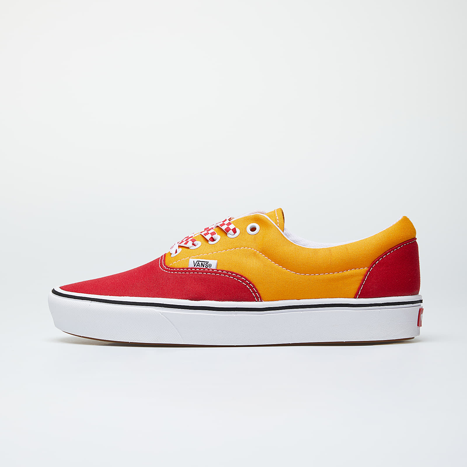 Férfi cipők Vans ComfyCush Era (Lace Mix) Red/ Cadmium Yellow