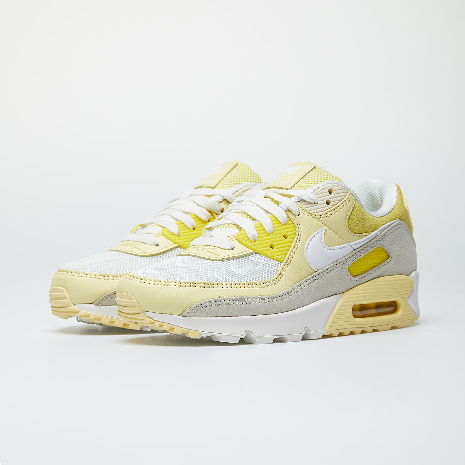 Nike Wmns Air Max 90 Opti Yellow White Fossil Bicycle Yellow | Footshop