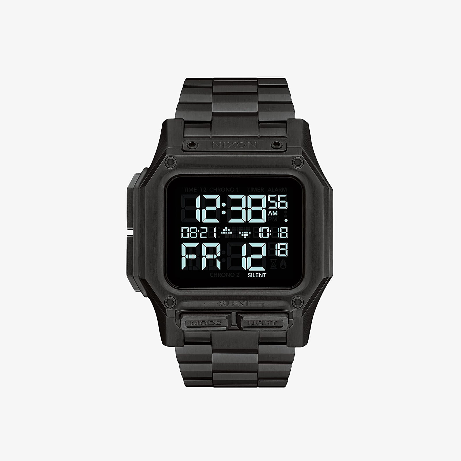 Hodinky Nixon Regular SS Watch All Black
