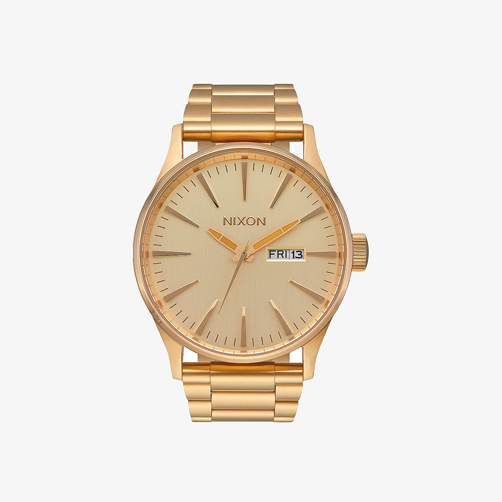 Watches Nixon Sentry SS Watch All Gold