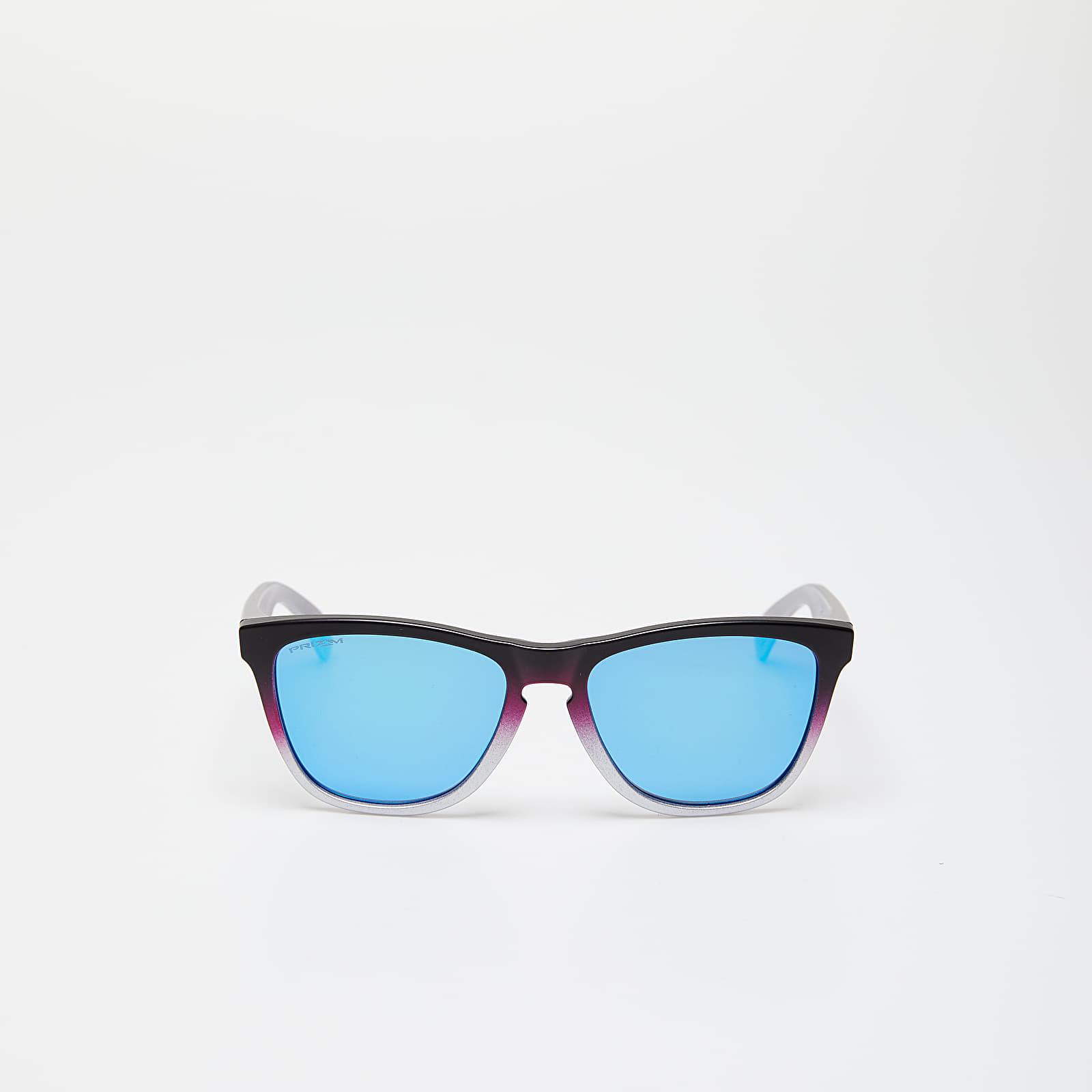 Sunčane naočale Oakley Frogskins Lite Splatterfade Sunglasses Black Pink/ Prizm Sapphire Iridium
