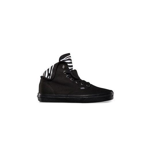 Outlet zum Verkauf detaillierter Blick Super Specials N Vans Authentic HI 2 (Zebra) black/b | Footshop