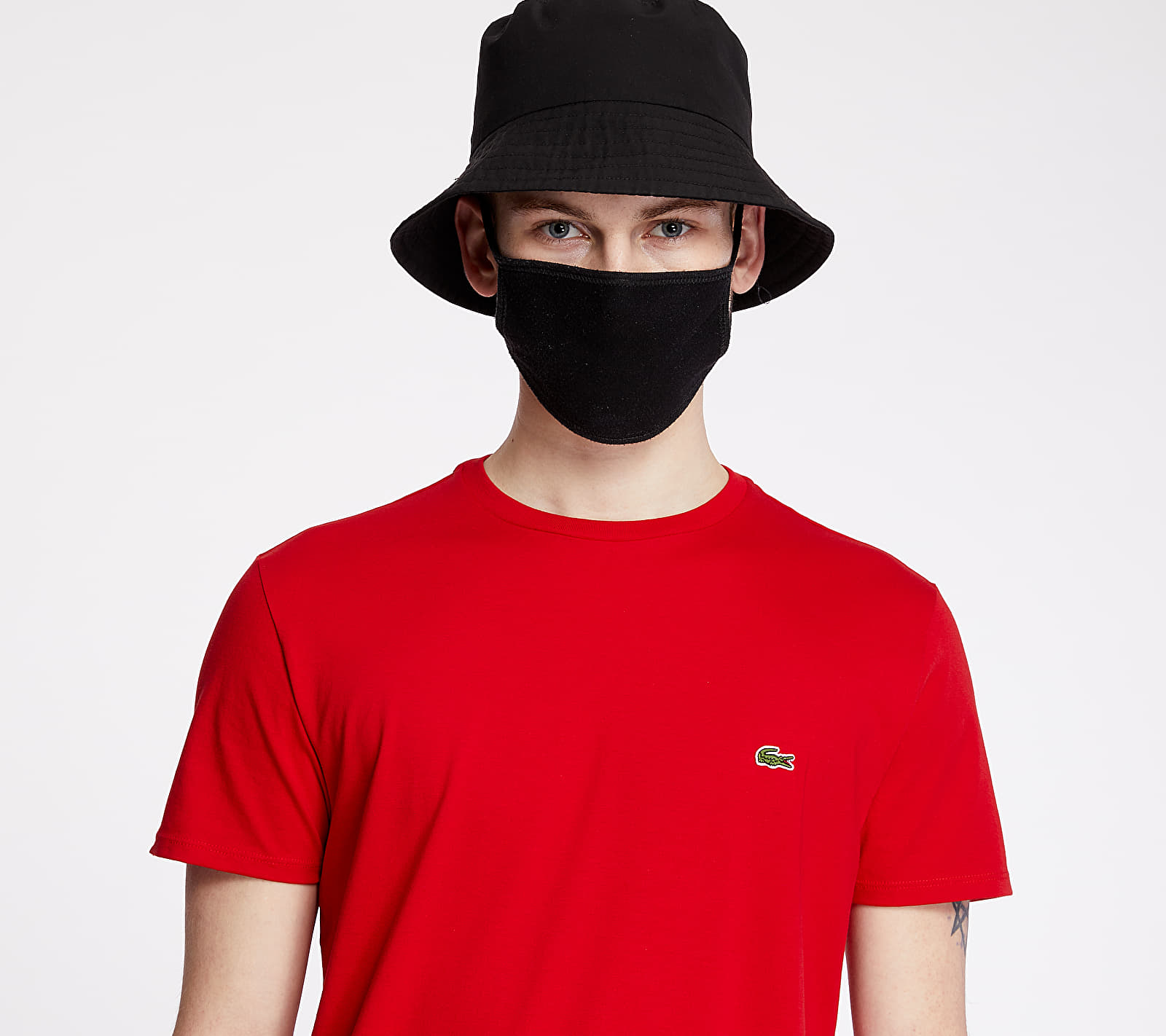 LACOSTE Classic Fit Tee Rouge, Red