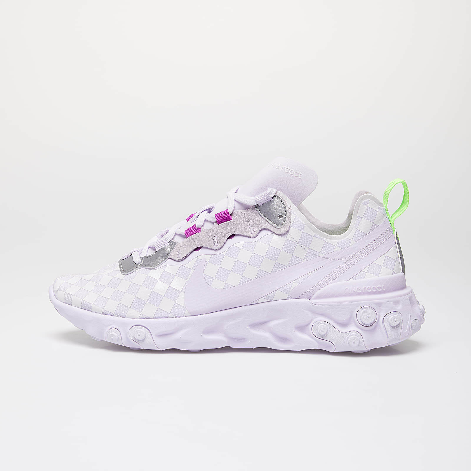 Scarpe e sneaker da donna Nike Wmns React Element 55 Barely Grape/ Barely Grape