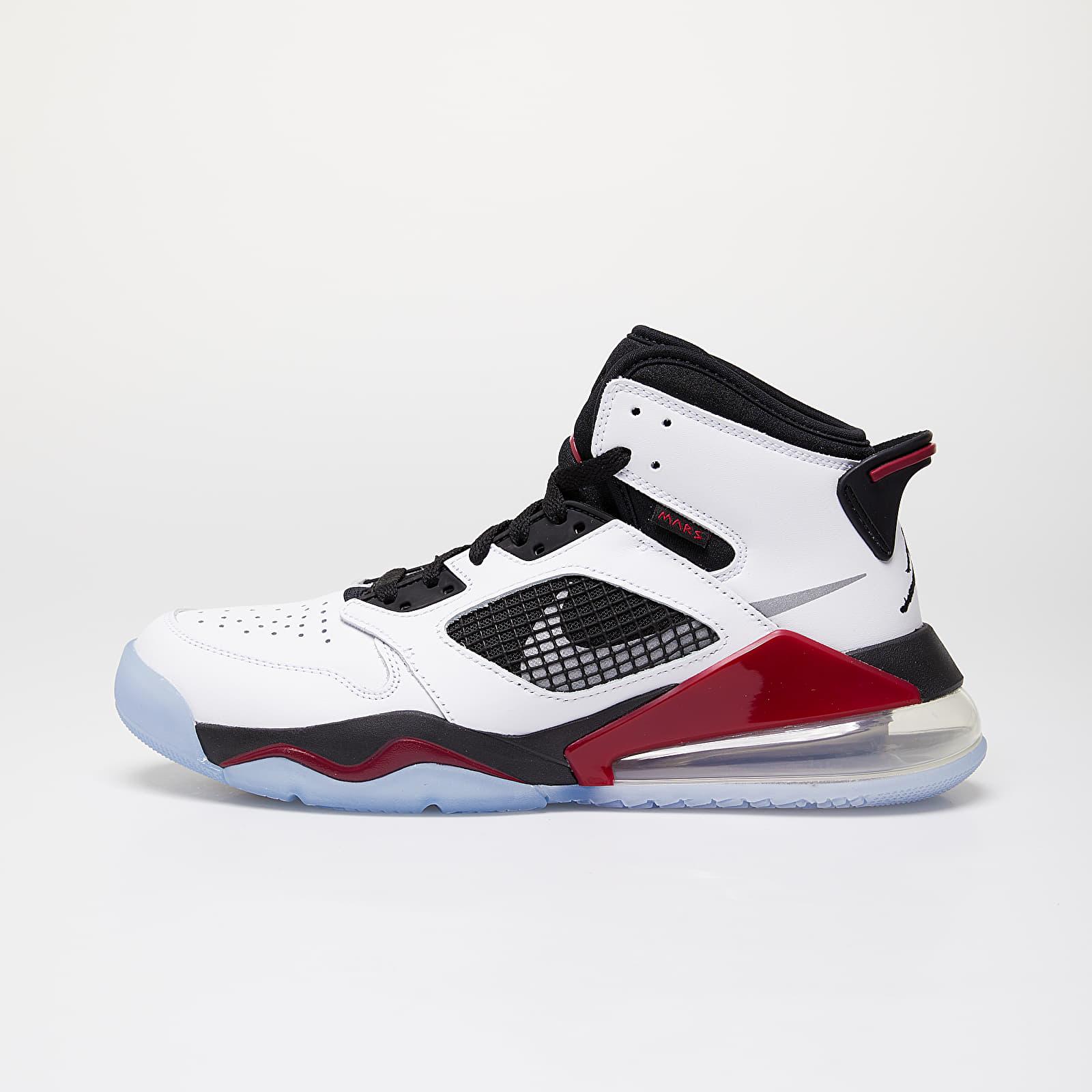 Pánske tenisky a topánky Jordan Mars 270 White/ Reflect Silver-Noble Red-Black