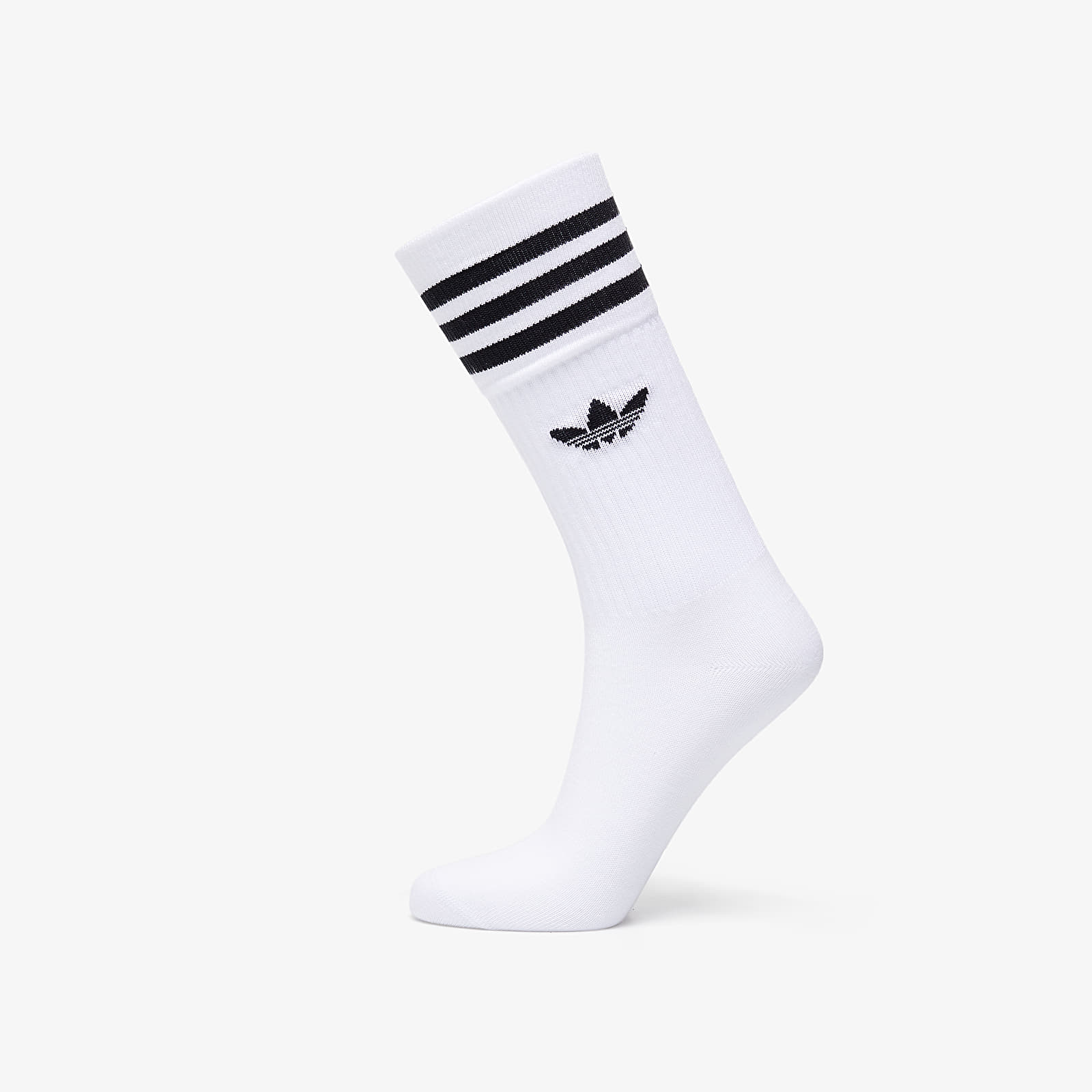 Calcetines adidas Solid Crew Sock 3-Pack White/ Black