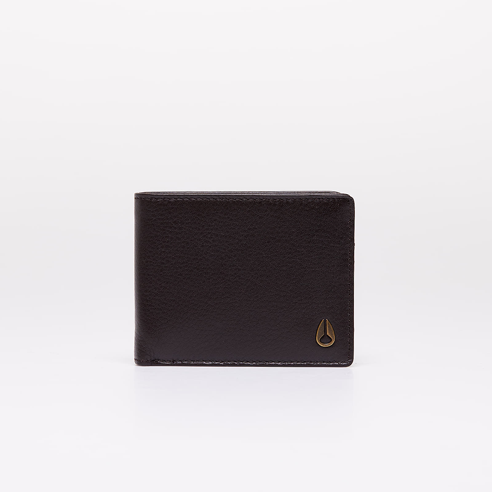 Wallets Nixon Pass Leather Wallet Brown