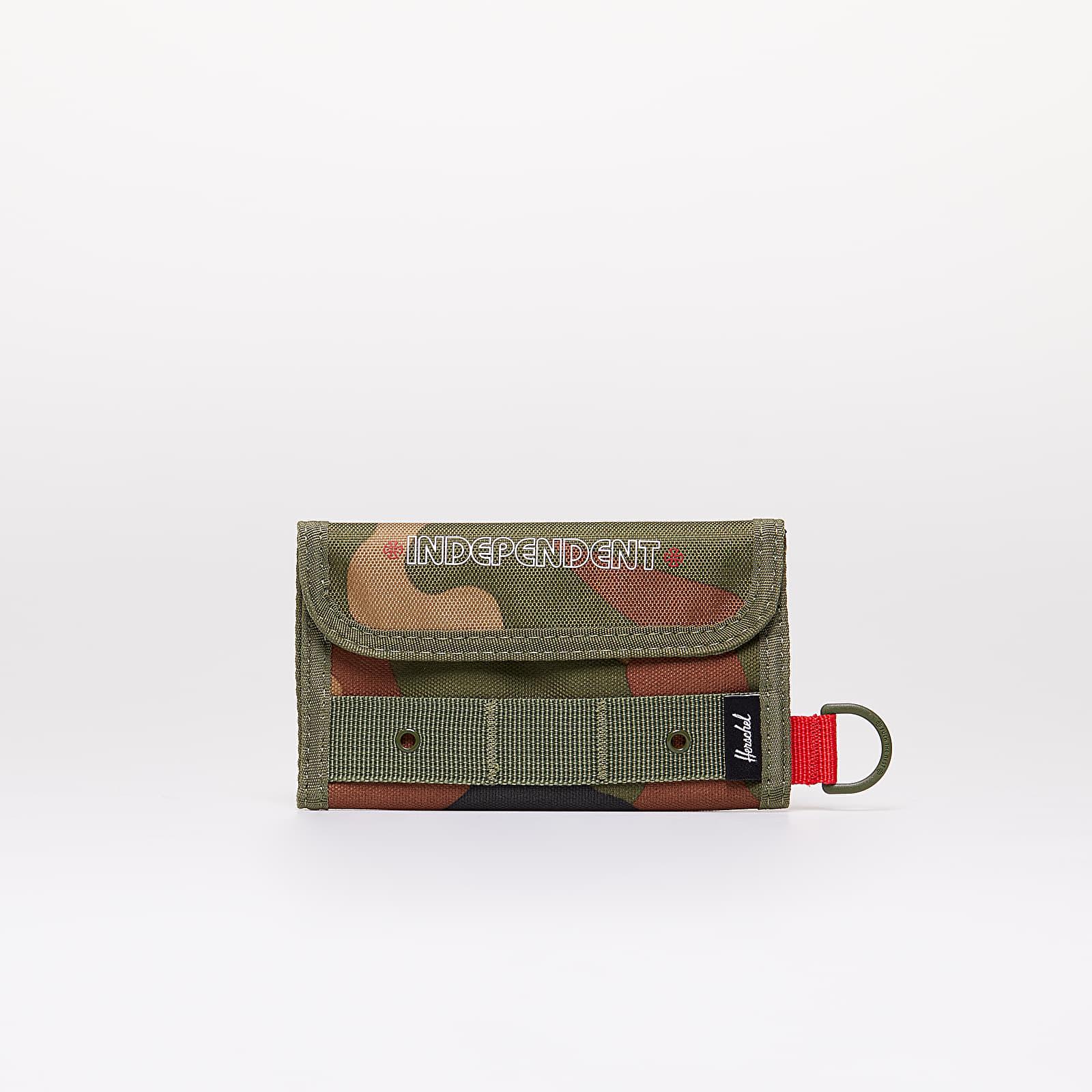 Portefeuilles Herschel Supply Co. x Independent Fairway Wallet Woodland/ Cypress