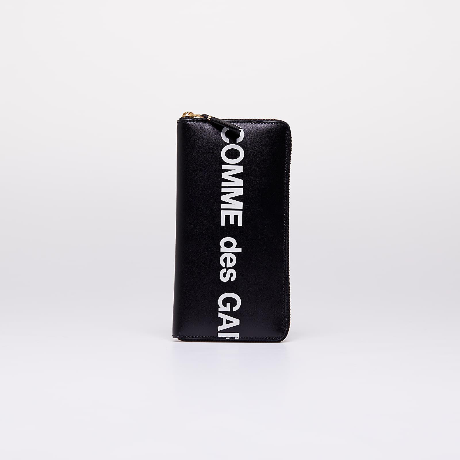 Portafogli Comme des Garçons Huge Logo Wallet Black